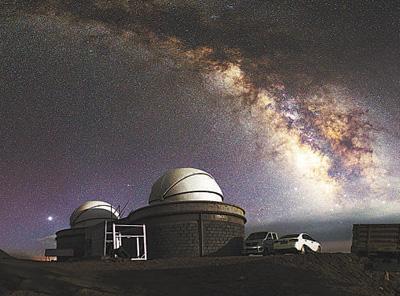我科学家发现国际一流光学天文台址